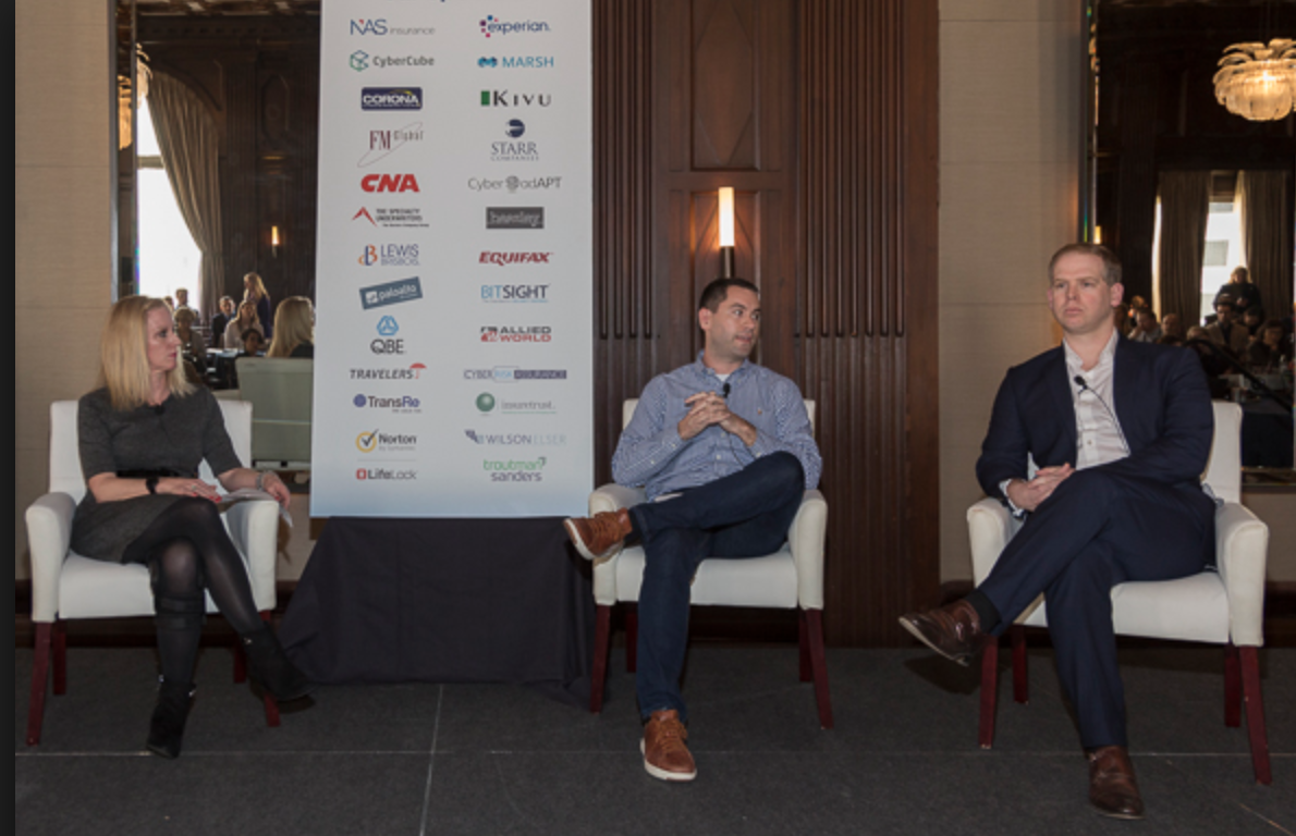 Nir Perry, CEO of Cyberwrite participated in a Cyber Insurance panel at Advisen